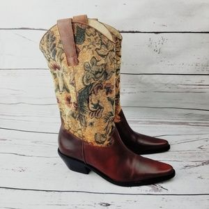 VERO CUOIO Matisse Tapestry Cowboy Womens 6